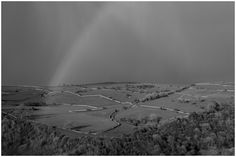 Black and White rainbow White Rainbow, Trout, Landscape Photography, Country Roads, River, Black And White, Wall, Image, Blanco Y Negro