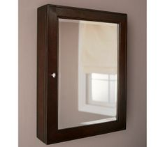 3rd Floor Bath Medicine Cabinet:  Pottery Barn CLASSIC WALL-MOUNTED MEDICINE CABINET