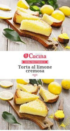 #Torta al #limone cremosa