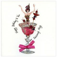 Madame D'Lish. A fun birthday card to send to your girly friends.