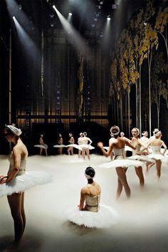 Beautiful ballerinas on stage. So inspiring!