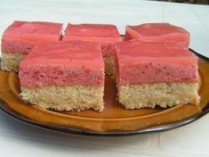 Jahodový krém High Sugar, Czech Recipes, Vanilla Cake, Ham, Cheesecake, Gluten, Cookies, Sweet, Food