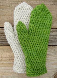 Lovikka Mittens In Slip Stitch By Ann Linderhjelm - Free Crochet Pattern - (ravelry) Slip Stitch Crochet, Crochet Mitts, Crochet Gloves, Knit Or Crochet, Crochet Scarves, Crochet Crafts, Crochet Stitches, Crochet Projects, Knitting Patterns