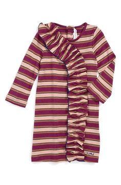 LITTLE MARC JACOBS Ruffle Front Dress (Baby Girls)