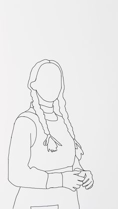 anne with an e wallpaper Outline Art, Outline Drawings, Pencil Art Drawings, Art Drawings Sketches, Easy Drawings, Hand Embroidery Art, Embroidery Patterns, Gilbert And Anne, Anne With An E
