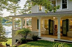 Whitten Architects: New England Home and Maine Cottage Design Architects I like the style of this architect