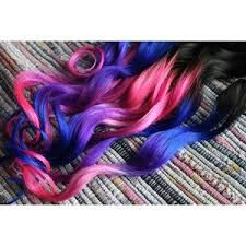Image result for hair color ideas blue and purple