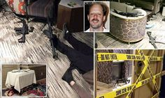 New photos show the Vegas shooter's body dead on the floor of his hotel room after he committed suicide on Sunday - surrounded by a terrifying arsenal of guns. News Around The World, Around The Worlds, Daily Mail Uk, World Conflicts, Political Issues, A Team, Las Vegas, Drudge Report, Flooring