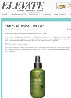 3 steps to having fuller hair