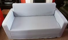 BESPOKE CUSTOM MADE COVER TO FIT THE IKEA SOLSTA SOFA BED