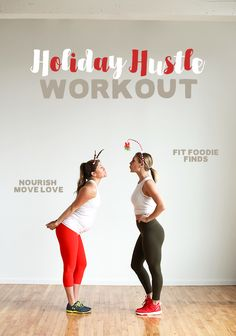 Do this Holiday Hustle Workout ad sweat it our over the holiday season! It's a circuit, bootcamp-style workout that mixes strength training and cardio. Fun Workouts, At Home Workouts, Training Workouts, Circuit Training, Holiday Workout, Tabata, Cardio, Boot Camp Workout, Abdominal Exercises