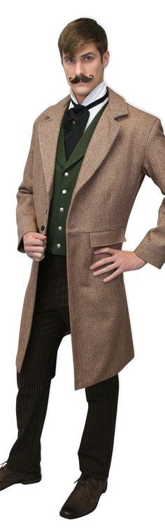 Steampunk fashions for men Steampunk Emporium, Steampunk Men, Steampunk Costume, Steampunk Clothing, Steampunk Fashion, Victorian Fashion, Steampunk Outfits, 1890s Fashion, Victorian Steampunk