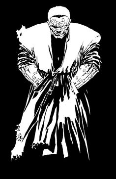 Marv from Frank Miller's Sin City. One of my favorite characters.