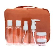 Exquisite Cosmetic Bottle Applicator Bottles-04(Set of Seven) -- Remarkable product available now. : Travel Hair care
