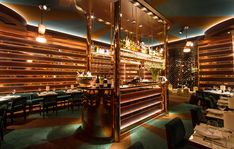 Casa Cruz Restaurant, London || LED Lights from EcoLED Lighting