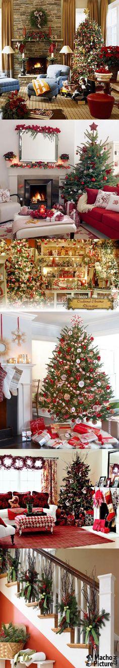 Traditional christmas decor - 7 PHOTO!