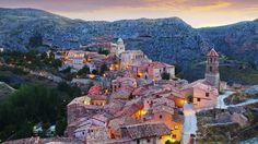 Pueblos pequeños, Albarracín España (Getty Images)