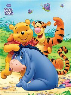 Winnie the Pooh, Tigger and Eeyore