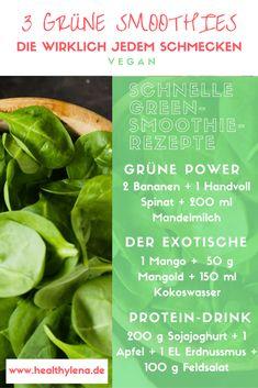 diese 3 grünen smoothies schmecken wirklich jedem einfache rezepte vegan