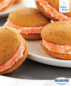 Have a love for Pumpkin-Spice? You'll adore this Pumpkin-Spiced Whoopie Pies recipe with a Ginger Cream twist. Easy to bake and easy to enjoy, they're sure to be a favourite with your family this Halloween.