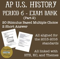 27 Best Apush Images History Teachers Multiple Choice Teaching