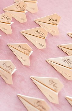 Blush Aviation Themed Wedding Inspiration - Inspired By This
