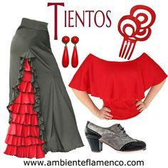 Everything You Need to Know About Flamenco Flamenco Costume, Flamenco Dancers, Dance Costumes, Larp Fashion, Diy Fashion, Fashion Outfits, Dance Outfits, Dance Dresses, Flamenco Skirt Pattern
