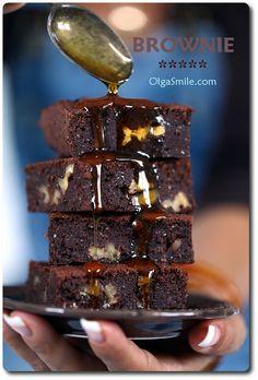 Czekoladowe brownie bezglutenowe z maka gryczana i z amarantusa