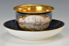 Lot: panorama cup, Lot Number: 5025, Starting Bid: €600, Auctioneer: Henry's Auktionshaus AG, Auction: Glass, porcelain, antiques and collectibles, Date: December 28th, 2017 EET