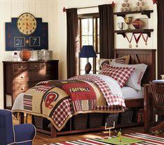 All star boys bedroom