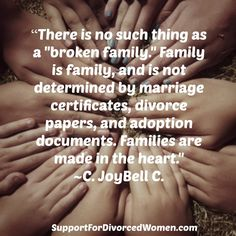 Friends are the family we choose... #divorce