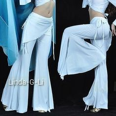 Tribal Pants Trousers Sexy Belly Dance Costumes Yoga Pants 9 Colors 2/1