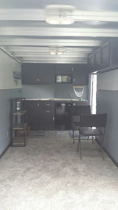 Best Enclosed Trailer Camper Conversion Ideas , In case it may help, I'll share a couple of things about our trailer, and several other ideas. If you are purchasing a box trailer specially for your . Toy Hauler Trailers, Toy Hauler Camper, Cargo Trailers, Utility Trailer, Camper Trailers, Camper Storage, Travel Trailers, Enclosed Trailer Cabinets, Enclosed Trailers
