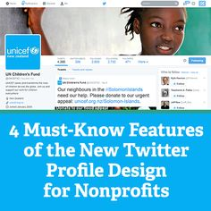 4 Must-Know Features of the New Twitter Profile Design for Nonprofits
