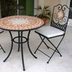 Have To Have It. Palazetto Barcelona 60 In. Round Mosaic Patio Dining Set    Seats 6 $2199.99 | HOME | Pinterest | Mosaics, Cas And Dining Sets