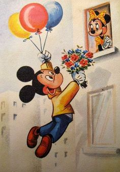 <3 Mickey & Friends Vintage <3