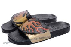 Adidas X Jeremy Scott Wings Sandals Flame Gold For Sale