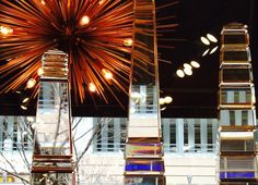 Festive #lighting and glass #decor at #Chicago #Mecox #interiordesign #MecoxGardens #furniture #shopping #home #decor #design #room #designidea #vintage #antiques #garden