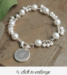 Romance Pearl Bracelet Bridesmaid Gift Ideas Gifts Unique