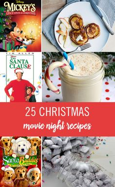 The holiday season has officially arrived. And we're more excited than ever that our favorite tradition is finally here — Freeform's 25 Days of Christmas! This year, we're upgrading our Christmas movie watching with themed treats. We've put together a day-by-day guide of films — from 'Mickey's Once Upon a Christmas' to 'The Santa Clause' — with delicious Christmas recipes to pair them with. Get ready, this is about to be the tastiest 25-day marathon ever! Click for more Disney recipes.