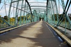 Fisheye South Washington St. Bridge Print by Christina Rollo.  All prints are professionally printed, packaged, and shipped within 3 - 4 business days. Choose from multiple sizes and hundreds of frame and mat options.