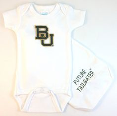 Baylor Bears Future Tailgater Baby Onesie (6 months)