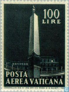 Vatican City - Obelisks 1959