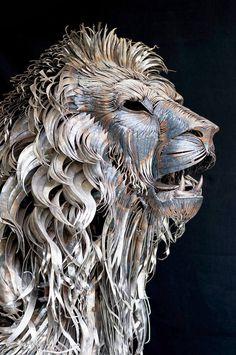 Metal Lion Art - by selcukk