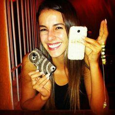 Capas para celular.. Cristais preciosa e Perolas