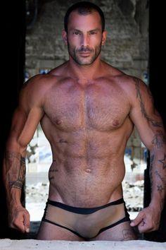 #Jockstrap #SexyMen #Sexy #Jock #Gods #Adonis #MuscleMen #Muscle #RippedAbs #Stud #Bulge