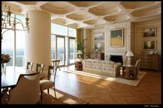 Sttuning Classic Living Room Design And Furniture Interior