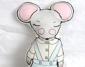Organic Mouse Plush