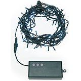 30 Ft. Cool White 100 LED Battery Operated String Lights with 8 Functions and Timer Options christmas deals week