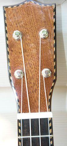 ukulele headstock design | Ukulele review: Samwill ukulele